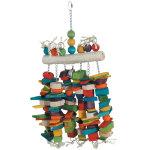 Rawhide Log Bird Toy