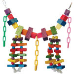 Rainbow Bridge Bird Toy