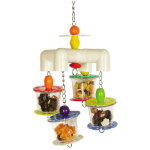 4 Way Forager Bird Toy