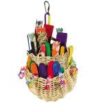Foraging Basket Bird Toy