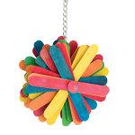 Pinwheel Bird Toy
